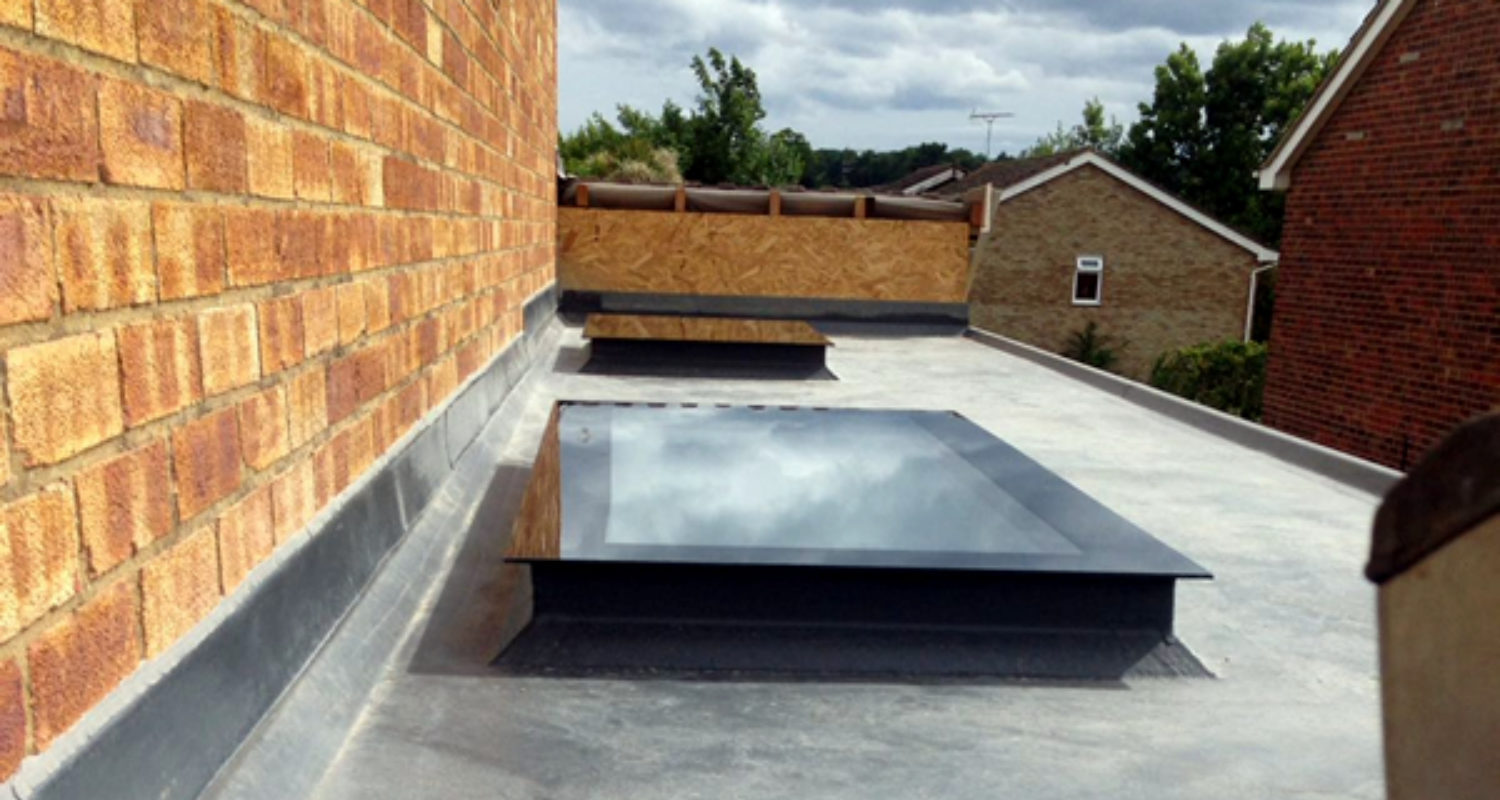 Flat Glass Skylight1