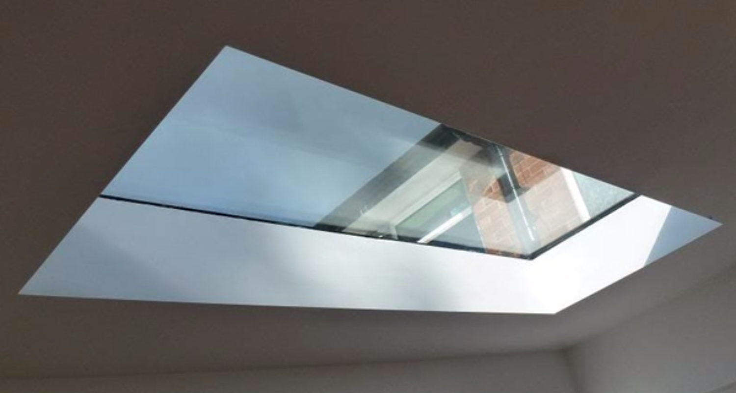 Flat Glass Skylight2