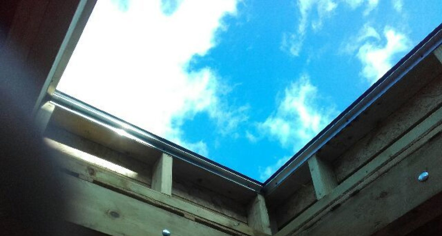 Frameless Glass Skylight 5