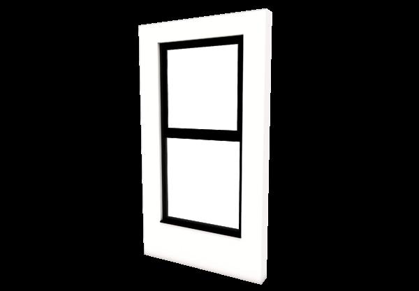 Smart Alitherm 300 Window - 600 x 1800 mm - Top Hinge
