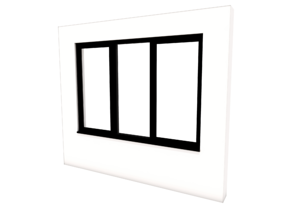 Smart Alitherm 300 Window - 1800 x 1200 mm - Fixed Middle Pane