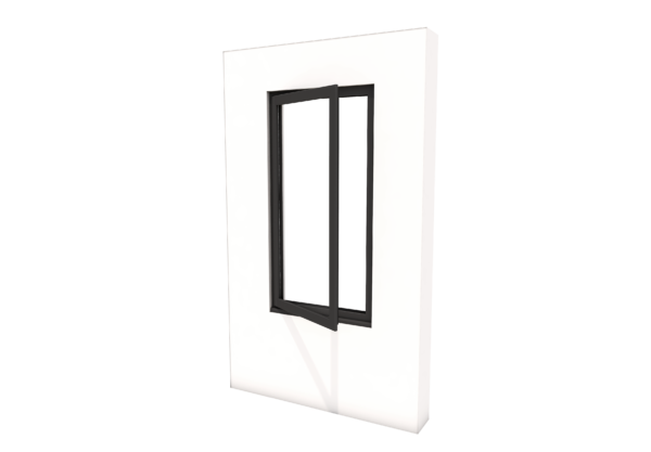 Smart Alitherm 300 Window - 600 x 1200 mm - Hinge Side Left (VFO)