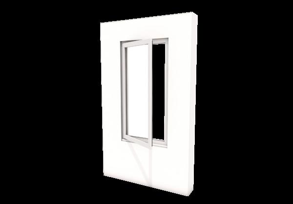 Smart Alitherm 300 Window - 600 x 1200 mm - Hinge Side Left (VFO)
