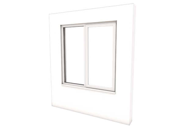Smart Alitherm 300 Window - 1200 x 1200 mm - Left Fixed