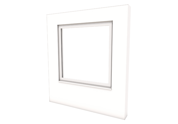 Smart Alitherm 300 Window - 1000 x 1000 mm - Fixed
