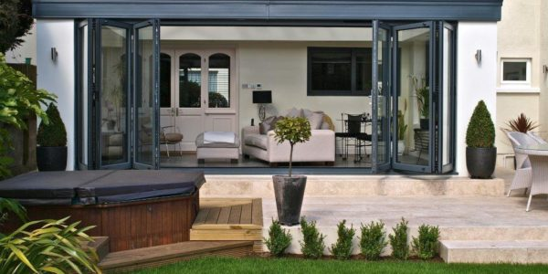 Maximise the impact of your extension with bifold doors