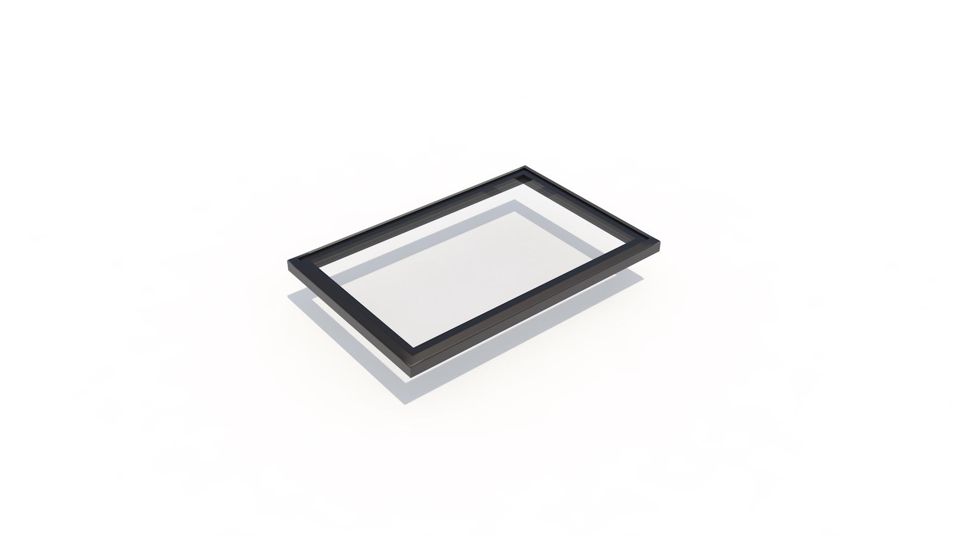 Frameless flat 900 x 1200 - Frameless flat Skylight