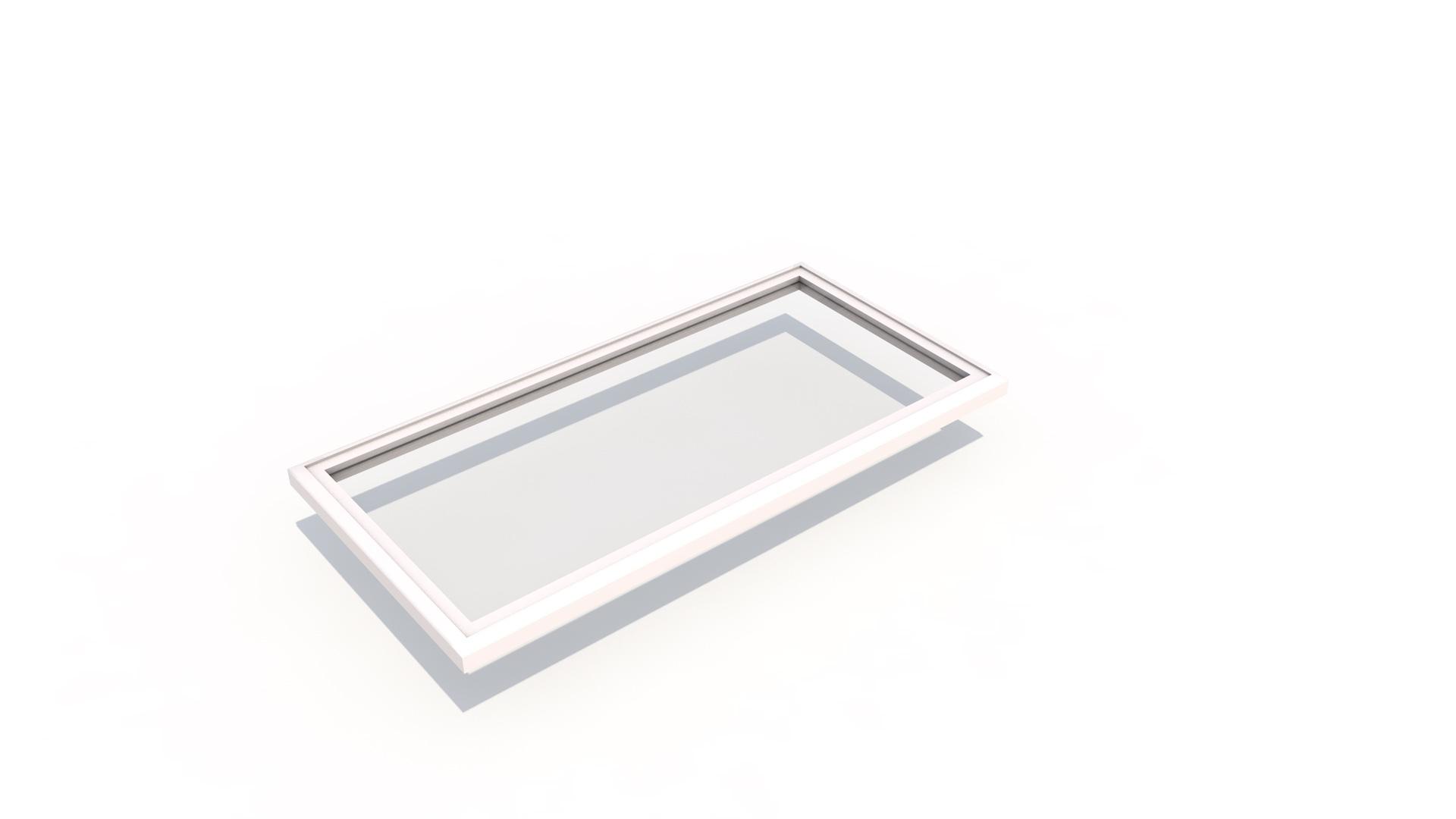 Flat 1m x 2m - Flat Skylight