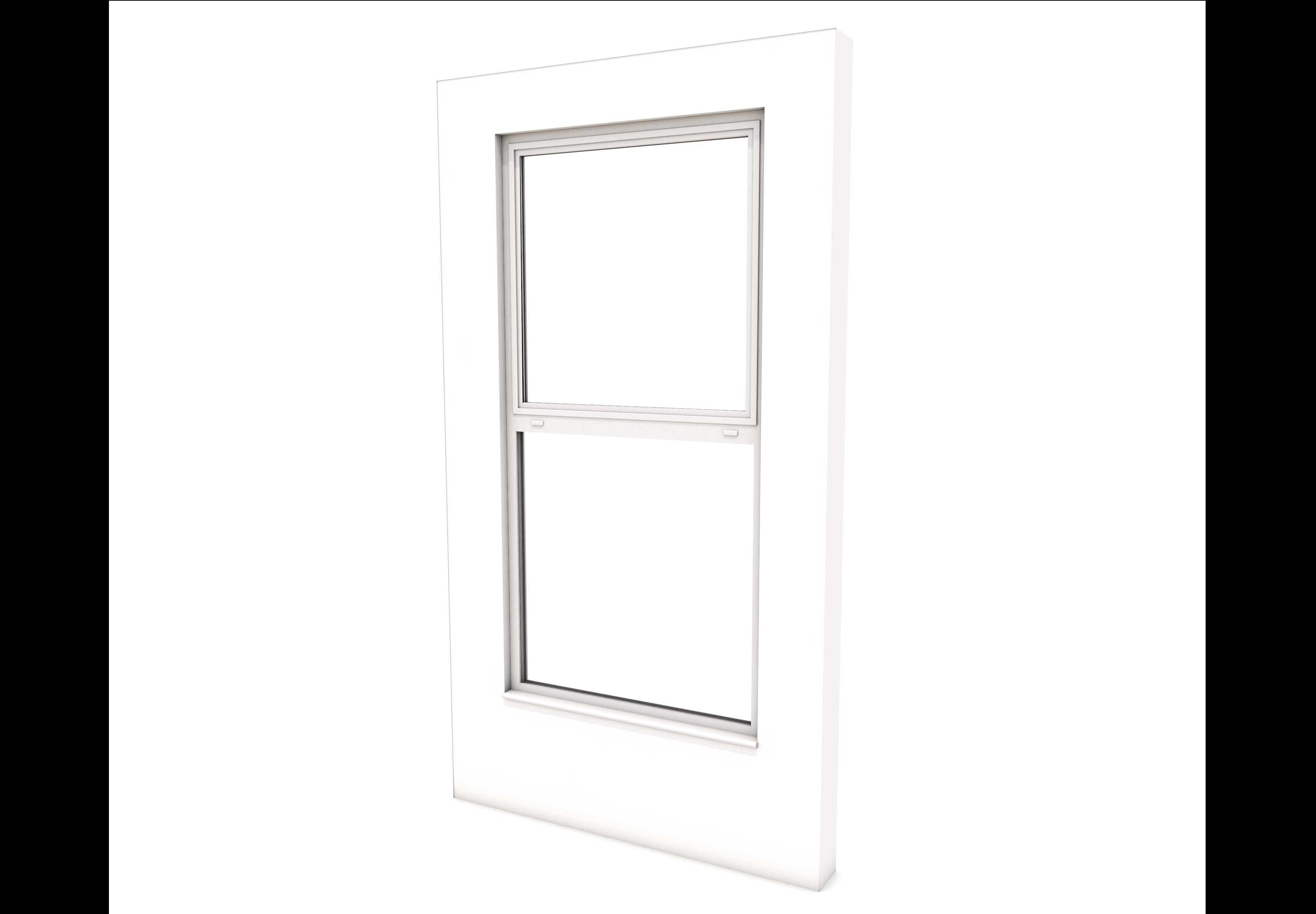 Smart Alitherm 300 Window - 600 x 1600 mm - Top Hinge