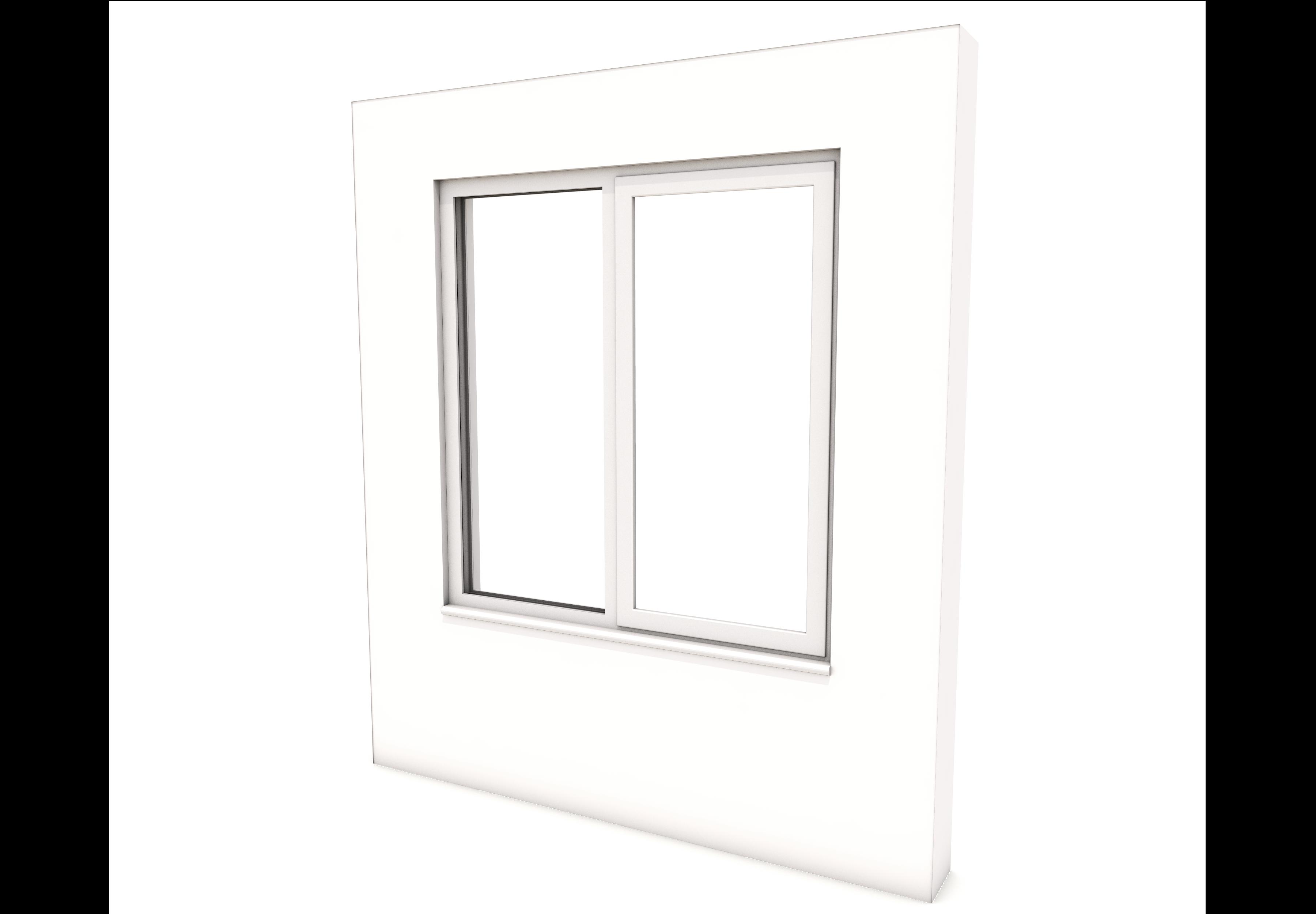 Smart Alitherm 300 Window - 1200 x 1200 mm - Left Fixed