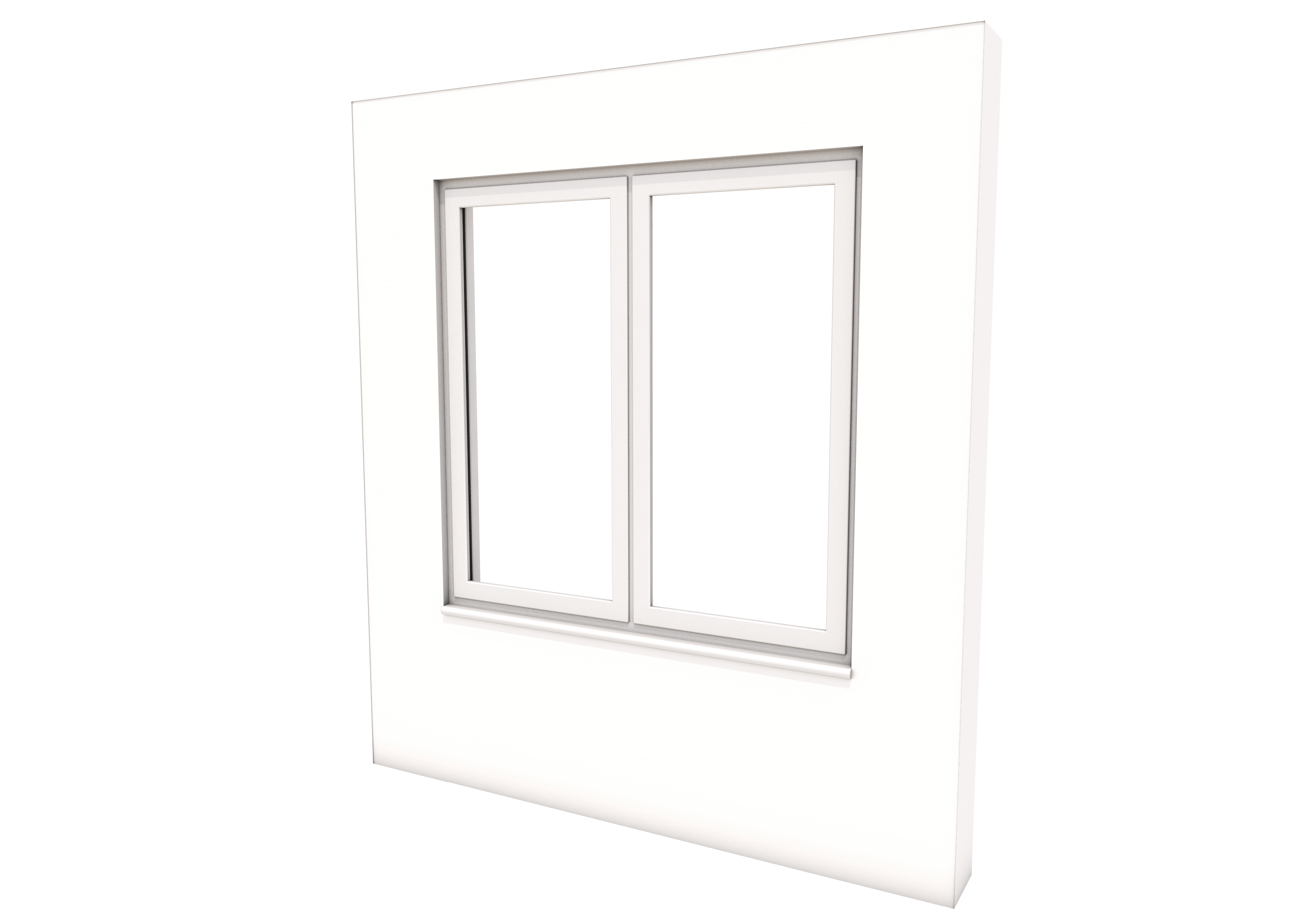 Smart Alitherm 300 Window - 1200 x 1200 mm - Both Opening
