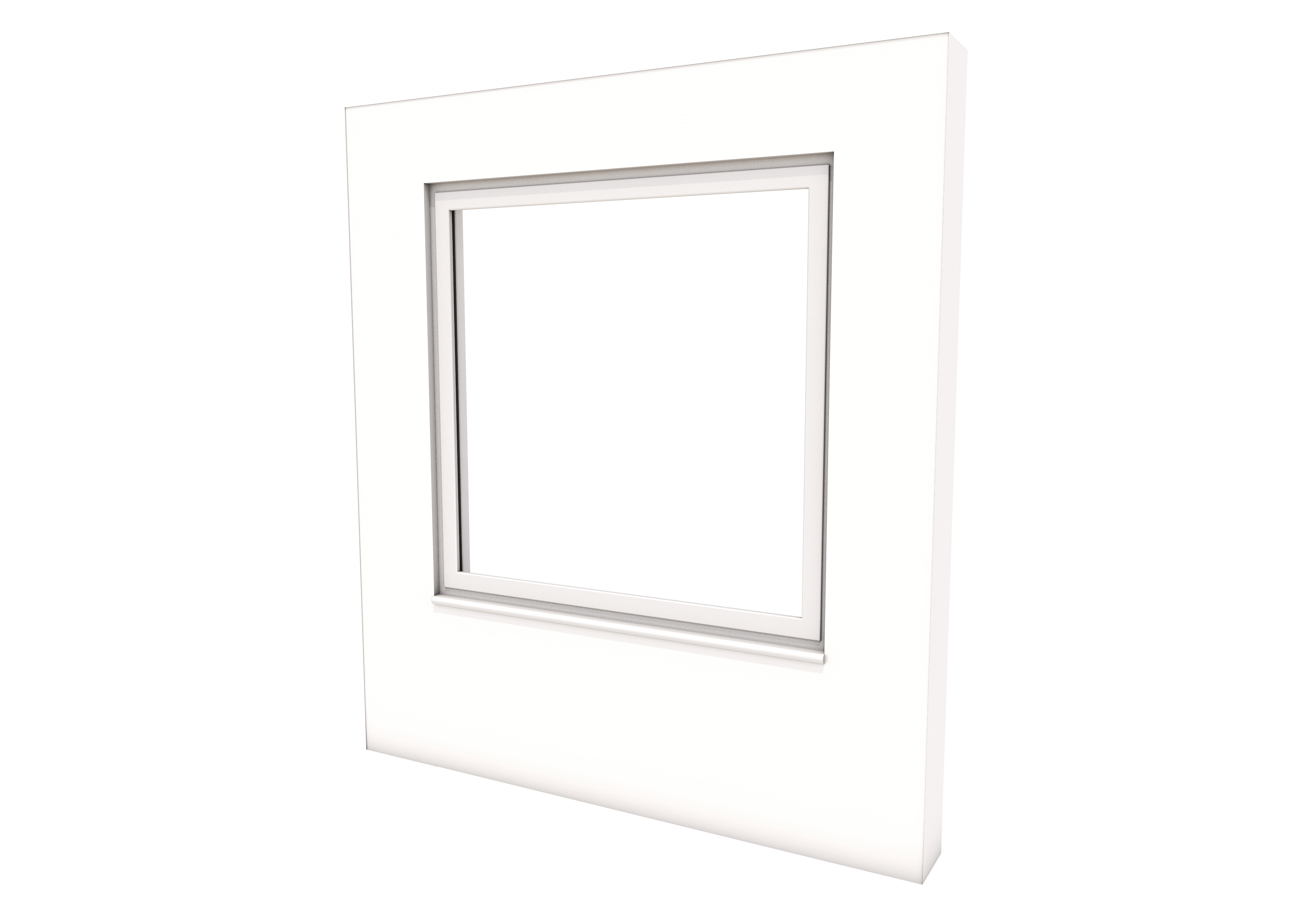 Smart Alitherm 300 Window - 600 x 1200 mm - Top Hinge
